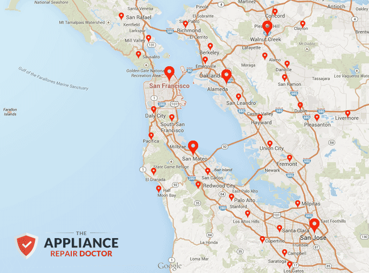 Appliance Repair for the Entire Bay Area